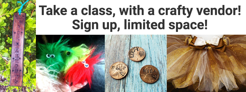 Sign up for craft workshops at the Festival of the Arts